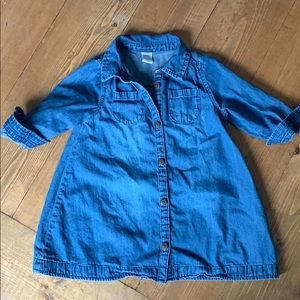 Denim Baby Dress || Old Navy || 18-24 Months
